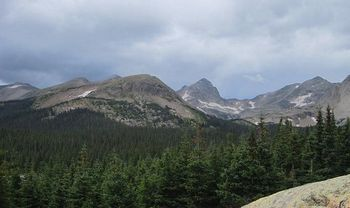 India Peaks Wilderness, in Colorado's front range. Credit: Hogs555/Wikimedia Commons.