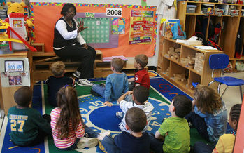 School Attendance Awareness Month kicks-off in September and in Connecticut there is special emphasis in Hartford Public Schools where six-in-10 students are chronically absent from class. Credit: woodleywonderworks via wiki commons.