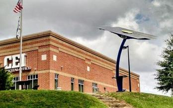 CEI - The Digital Office in Raleigh took advantage of available state and federal tax credits to install 615 solar panels and a new
