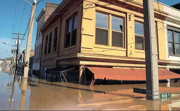 Because of coastal flooding, a Virginian is pressing Washington for action on climate change. Photo by NOAA.