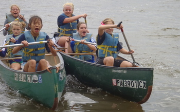 Water-quality programs in the field reinforce classroom lessons for Pennsylvania kids. Courtesy: Chesapeake Bay Foundation.