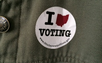 You must be a U.S. citizen, 18 years old and a resident of Ohio to vote on Nov. 3. Credit: M. Kuhlman