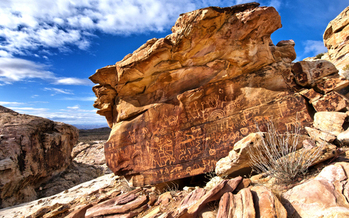 Nevada tribal members and outdoor recreation advocates are in Washington this week to press for Gold Butte National Monument. Credit: Kurt Kuznicki