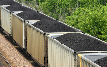 Train loaded with coal. Credit: bsauter/iStock
