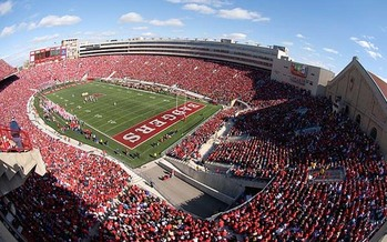 UW-Madison police say allowing firearms at Camp Randall Stadium would be a security nightmare. Courtesy: UW-Madison