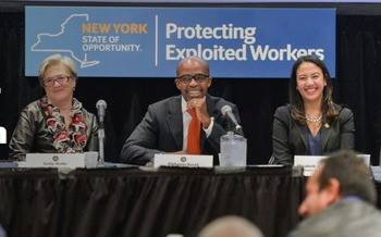 The Task Force on Worker Exploitation held its first public meeting in New York City on Thursday. Credit: www.ny.gov