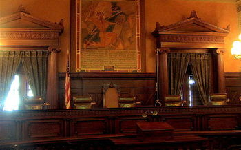 Campaign spending is expected to accelerate toward Election Day in the race for vacant seats on the Pennsylvania Supreme Court. Credit: Ruhrfisch/Wikimedia Commons.