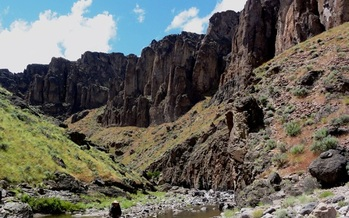 Owyhee Canyonlands in southeastern Oregon. Credit: Jeremy Fox