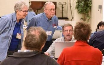 AARP Illinois is looking for volunteer tax preparers. Credit: AARP Illinois