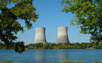 The cooling towers of Watts Bar 1, which was completed in 1996. TVA recently received the operating license for Watts Bar 2. Credit: TVA.
