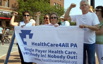 The Pennsylvania Health Care Plan would cover every resident of the state. Credit: Healthcare4ALL PA<br />