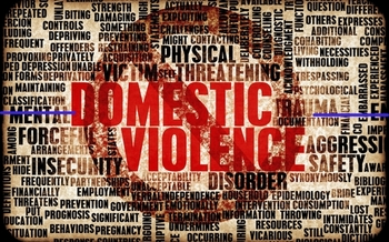 October is Domestic Violence Awareness Month. On average, three women in the United States are murdered by their husband or boyfriend every day. Credit: kentoh/iStockPhoto.com