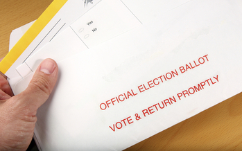 The deadline to return ballots is this Tuesday. Credit: svanblar