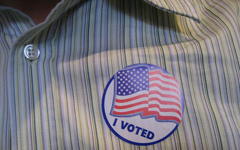Less than one-third of registered Indiana voters took part in last year's midterm election. Credit: Daniel Morrison/Flickr.