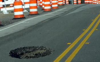 A new report connects Michigan road woes and other economic troubles to business tax cuts. Credit: DodgertonSkillhause/Morguefile