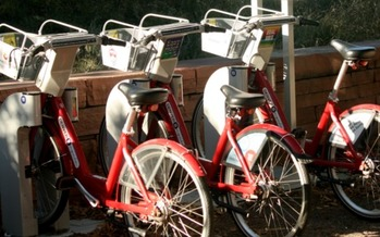 A new study of bike-share programs in Sun Belt cities shows the majority of rides are replacing other modes of transportation. Credit: Seraphimblade/Wikimedia Commons