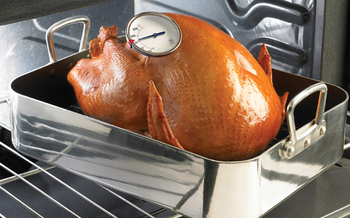 As the Thanksgiving holiday approaches, a food expert reminds cooks across America to follow common sense safety tips. Credit: USDA