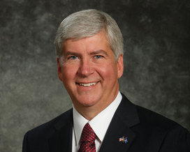 Gov. Rick Snyder's decision to stop accepting Syrian refugees in Michigan is being met with some criticism. Credit: Office of Gov. Snyder.