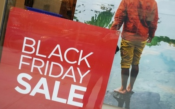 Consumer advocates suggest Mainers do a little bit of homework before they head into the Black Friday shopping crowds. Credit: M. Clifford