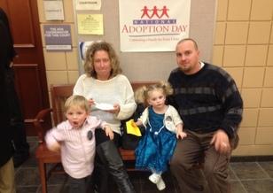 Dozens of adoptions will be finalized during Michigan Adoption Day. Courtesy: Michigan Supreme Court