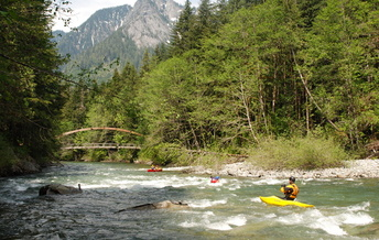 The Middle Fork Snoqualmie River is one of two that received protection as Wild and Scenic just a year ago. (Thomas O'Keefe)