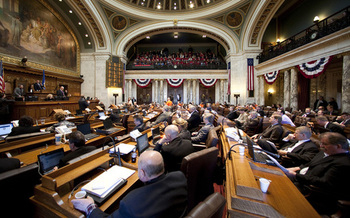 2015 was a year of highs and lows in the state Legislature, according to the executive director of the nonpartisan Wisconsin Democracy Campaign. (legislature.wi.gov)