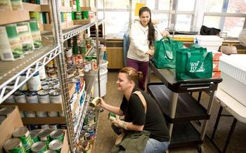 More than one-third of people who have been to a charitable food pantry in Oregon in 2015 say they've needed the assistance at least 12 times during the year. (Oregon Food Bank)