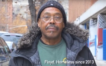 Floyd Parks is one of three homeless men who say New York City officials trashed their belongings in the middle of the night. (NYCLU)<br />