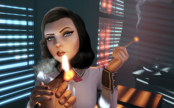 Many popular video games played by children have characters who smoke. (Truth Initiative)