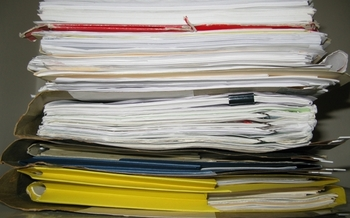 Experts recommend gathering important documents early to get a jump start on tax filing season. (James Morris/Flickr)
