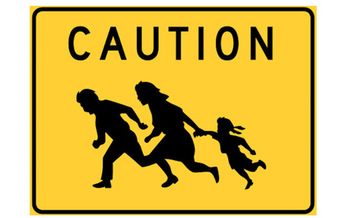 Many families that fled violence in Central America now face deportation. (John Hood, Caltrans/Wikimedia Commons)