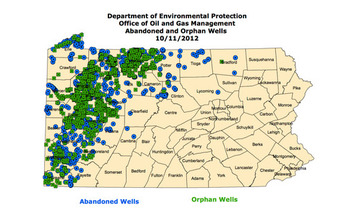 New rules could help avoid interference between new and abandoned wells. (Pennsylvania Department of Environmental Protection)