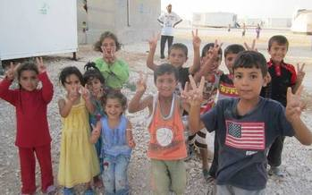Children are among those most affected by the humanitarian crisis in Syria. (Elsa Alaswad)