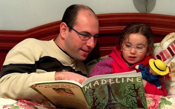 Home visits help parents become their child's first teacher. (Ldorfman/Wikimedia Commons)