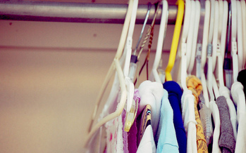 During Get Organized Month in January, experts recommend starting with closets. (emma kate/Flickr)