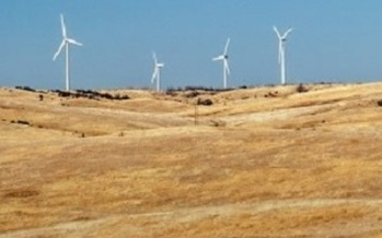 Iowa already leads the nation in electricity generation from wind, with the goal of reaching 40 percent of total energy production in less than five years. (Center for Rural Affairs)