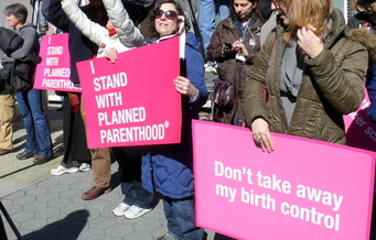 Planned Parenthood officials have filed suit against an anti-abortion group for fraud and other charges in connection with secret videos released last year. (Wikimedia Commons)