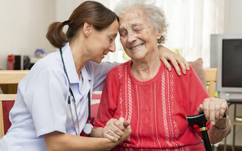 Some senior home-care workers could see a 50 percent pay cut by Friday if Illinois' budget impasse continues. (iStockphoto)