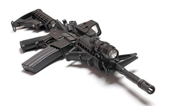 Gun rights supporters will get another chance to argue about overturning Maryland's assault weapons ban. (iStockphoto/Ultra1s)