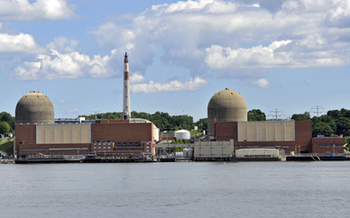 The Indian Point Nuclear Power Station experienced five emergency shutdowns in 2015. (Tony Fischer/Flickr)