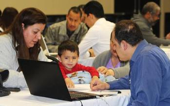 Nevada has seen a big drop in the percentage of Hispanic children who are uninsured, thanks to Medicaid expansion and outreach events across the state. (Ramirez Group)
