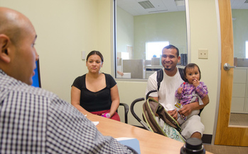 Access to safe, reliable child care helps homeless families secure jobs and housing.  (USDA/flickr)