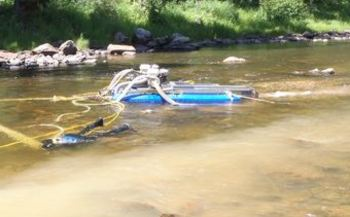 Expansion of suction dredge gold mining failed to get approval Tuesday from the Idaho House Resource and Conservation Committee. (Idaho Conservation League)