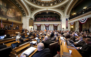 The Wisconsin legislature has granted immunity to too many businesses in the past few years, according to a trial lawyer. (WI Assembly)