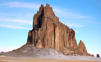 The Shiprock is one of New Mexico's iconic natural landmarks. The state's congressional delegation is ranked among the best for its voting record on pro-conservation legislation. (Wikimedia Commons)