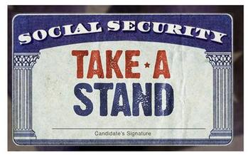 AARP's Take a Stand campaign aims to keep Social Security at the center of the presidential race discussions.(AARP)