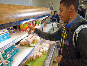 About 382,000 Michigan kids eat school breakfast each day. (USDA)