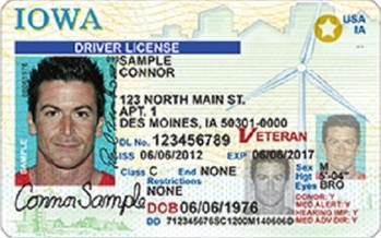 A new poll shows a majority of Iowans favor issuing driver's licenses to individuals, regardless of their immigration status. (Iowa Department of Transportation)