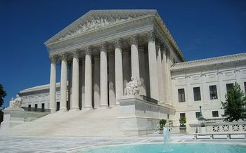 The U.S. Supreme Court takes up the immigration case in April. (Daderot/Wikimedia Commons)