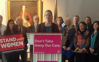 Devon Chaffee of ACLU of New Hampshire is giving Granite State lawmakers credit for holding the line on women's reproductive rights this legislative session. (ACLU of New Hampshire)
